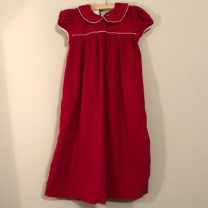 Lolly Wolly Doodle Red Holiday Dress - Size 10